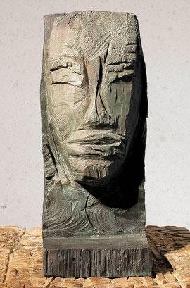 Kopf 124, 2000, Bronze, 0/9 Exemplare, Höhe 47 cm