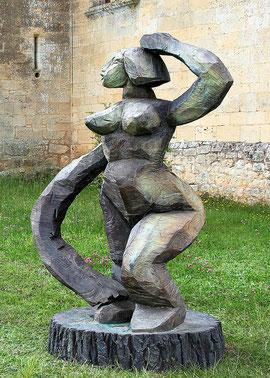 Weha II, 2002, Bronze, 218 x 145 x 118 cm