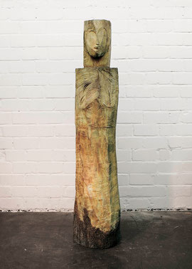 Kore, 1998, Bronze, 5/6 Exemplare, Höhe 180 cm