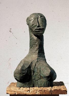 Geoparin, 1993, Bronze, 7/9 Exemplare, Höhe 68 cm