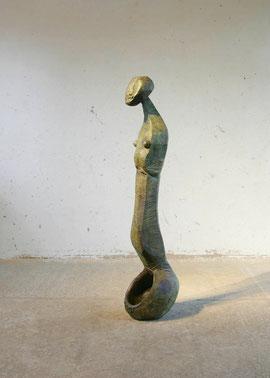 Empty Spoon VI, 2006, Bronze, 6 Ex., Höhe 159 cm