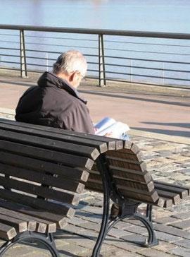 Plaisir solitaire près de la Garonne (M. Depecker)