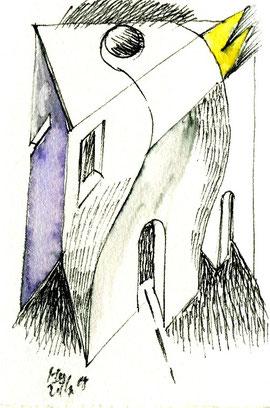 disegno originale di Marco Marchiani a piena pagina