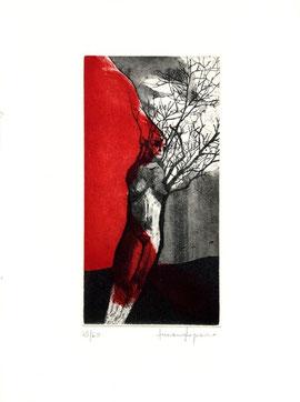 incisione originale di Luciano Ragozzino (misura lastra 175x85 mm)
