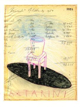 """""""Altarini"""", oepra originale di Lucian Pescador (misura 240x180 mm)"""