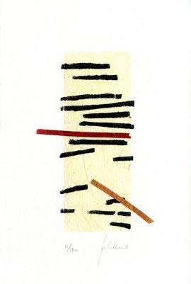 xilografia-monotipo originale di Paolo Cabrini (misura 120x60 mm circa)