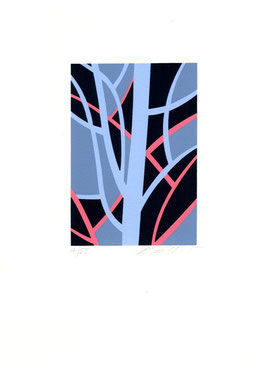 serigrafia originale di Manuela Bertoli (misura 130x90 mm)