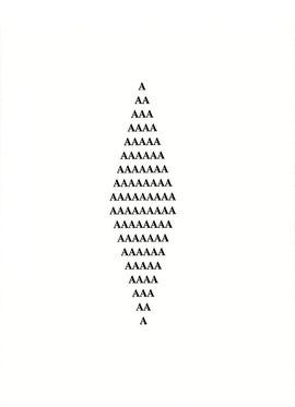 pagina tipografica contenuta in Altare