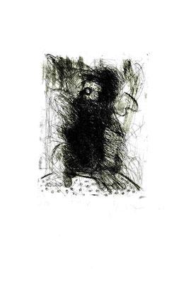 incisione originale di Piermario Dorigatti (misura lastra 195x150 mm)