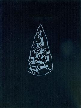 linoleum originale di Luciano Ragozzino (misura 125x60 mm)