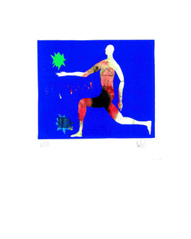 serigrafia origjnale di Pierluigi Puliti (misura 125x150 mm)