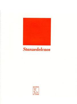 copertina tipografica stampata in arancione