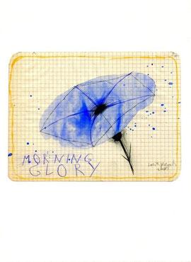 """""""Morning Glory"""", opera originale di Lucia Pescador (misura 135x175 mm)"""