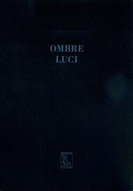 """copertina del quaderno """"Ombre luci"""""""