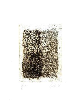 incisione originale di Elisabetta Casella (misura lastra 195x145 mm)