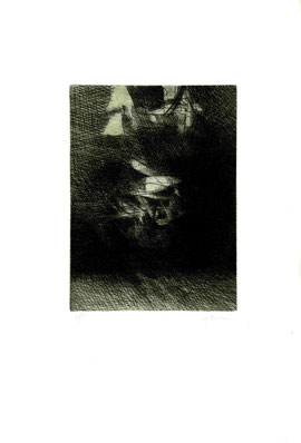 incisione originale di Elena Strada (misura lastra 195x145 mm)