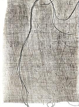 incisione originale a piena pagina di Oliana Spazzoli