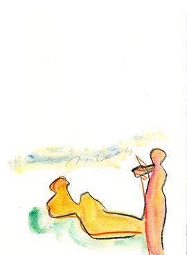 disegno originale dell'autore a piena pagina