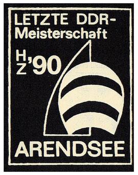 Das war das Logo der letzten DDR-Meisterschaft.