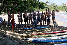 Rincon, Puerto Rico, surfing, school