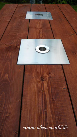 Holz Tisch der Firma Ideen World