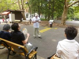日比谷公園や本多静六博士について説明します