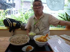 天丼セットランチ 美味!