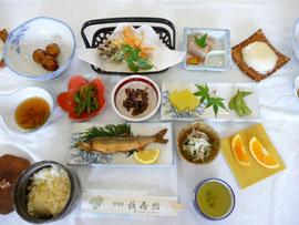 日本の長寿村ゆずりはら長寿館の「はれの食」