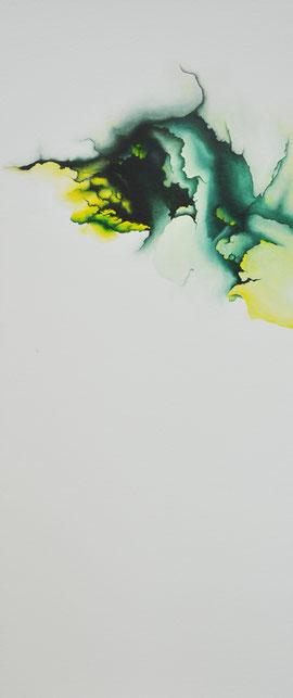 o.T., 70x30cm, Öl auf Leinwand, 2017