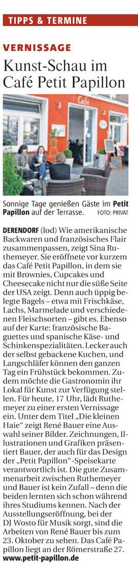 Artikel aus der Rheinischen Post September 2010