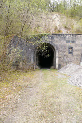 Die alte Tunnelröhre - seit Jahren stillgelegt