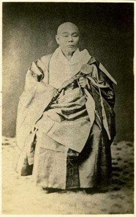 環溪密雲禅師(東川寺所蔵)
