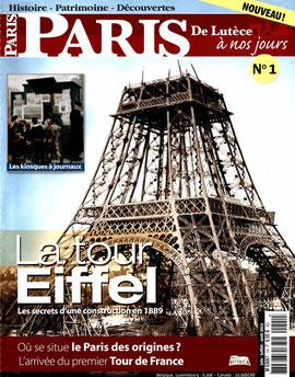 Couverture Paris De Lutèce à nos jours (n°1)