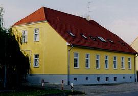 Sanierter Schlossflügel