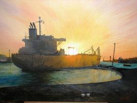 pétrolier cim7 au Havre