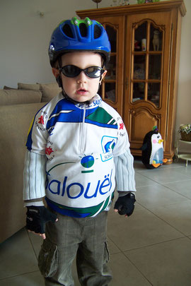 Tom PORET (2ans) : Futur champion EDV ???