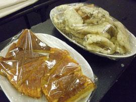 ヤマシタさんお手製お菓子たち