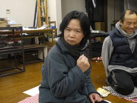 みんなに意見を出してもらって、執筆意欲に燃えるヤマシタさん(^o^)