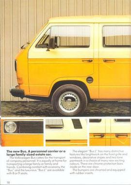 Britse Reclame voor de Bus L, 1982