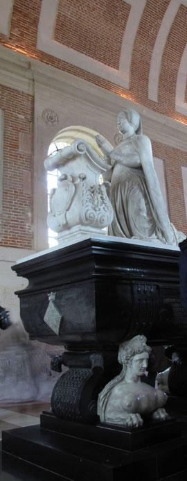 Anet. Le tombeau de Diane de Poitiers