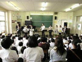 フィナーレは全員で演奏しました。