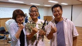 後輩と昔の教え子と再会!!