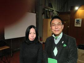 大学の後輩の森田さん!