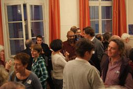 Samedi : échanges informels après les conférences