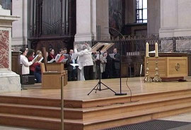 Dimanche :Jean-Jo Roux dirige le Jeune Chœur Liturgique