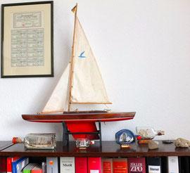Modelsegelschiff