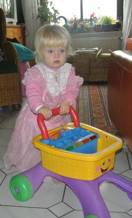 willkommen kleine Prinzessin Annabell