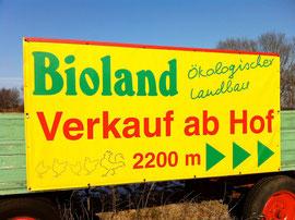 Wegweisen an der Kreuzung Grifte-Hertingshausen-Holzhausen-Guntershausen
