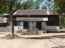 Schule von einem Kloster in der PASDB Kinder einschult.