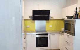 Küchen mit Hochglanzoberfläche, © Ladenbau Berschneider, Deining